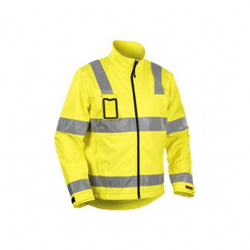 Blaklader 4838 High Vis Softshell (Yellow)
